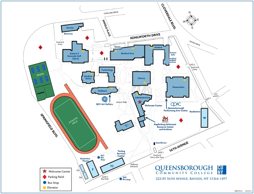 Qcc Campus Map | fysiotherapieamstelstreek on